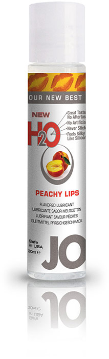 System JO H2O Lubricant - Peach - 30 ml (water based)