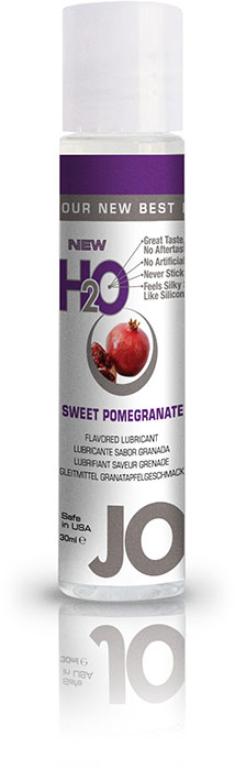 System JO H2O Lubricant - Pomegranate - 30 ml (water based)
