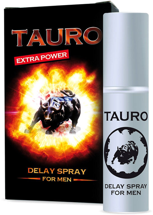 TAURO Extra Power ejaculation delay spray – 5 ml
