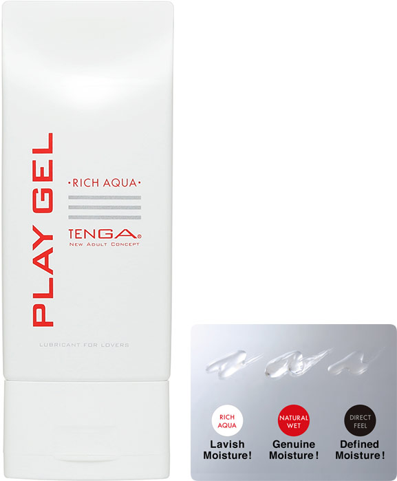 Tenga Play Gel Rich Aqua Lubricant - 150 ml (water based)