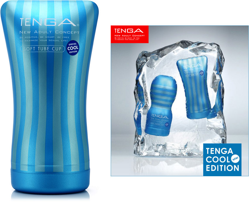 Tenga Soft Tube Masturbator - Cool Edition