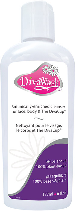 DivaWash - Cleanser for face, body & DivaCup
