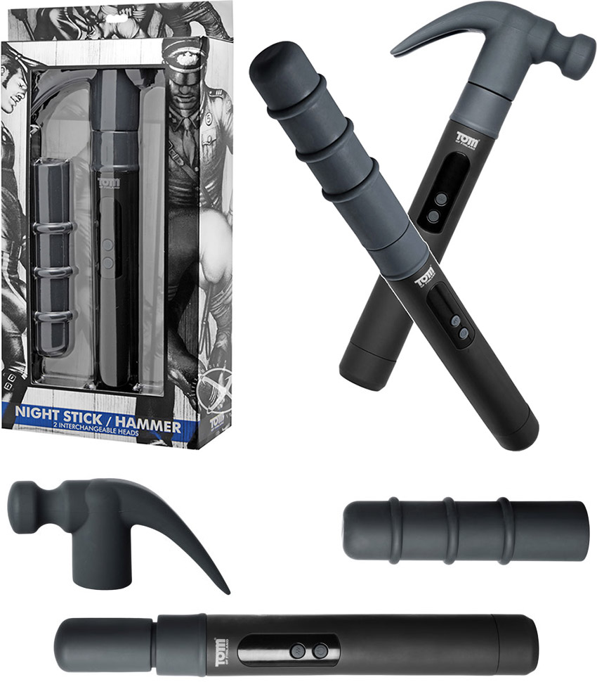 Tom of Finland Night Stick & Hammer vibrator