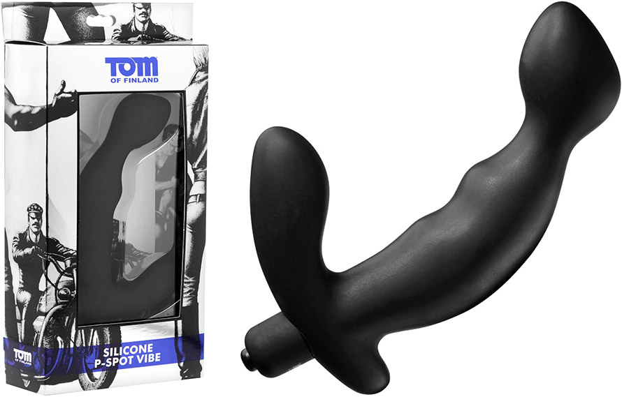 Vibromasseur prostatique en silicone Tom of Finland