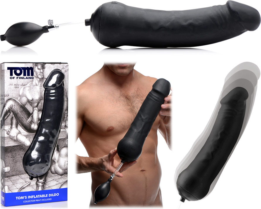 Tom of Finland Tom's Inflatable Dildo large inflatable dildo