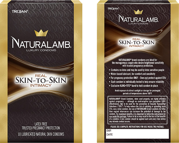 Trojan Naturalamb Condom (10 Condoms)