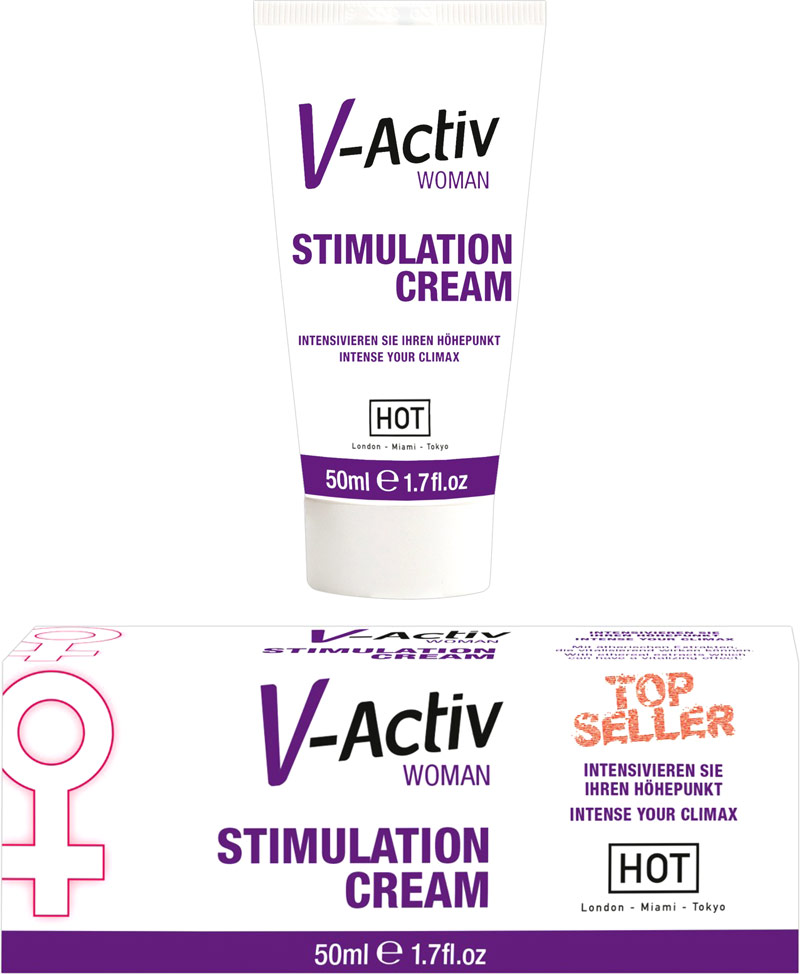 V-Activ Woman - Stimulation Cream (for her) - 50 ml