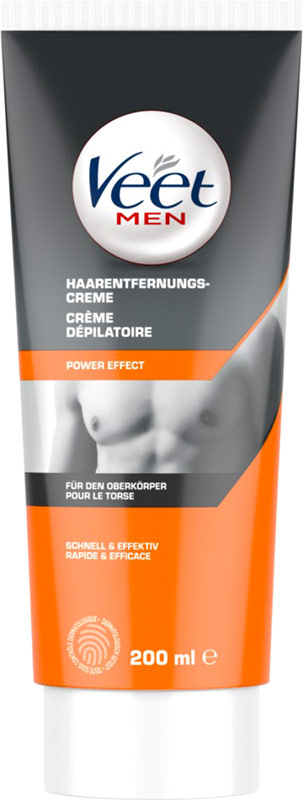 Gel-crema depilatoria per uomo Veet for Men