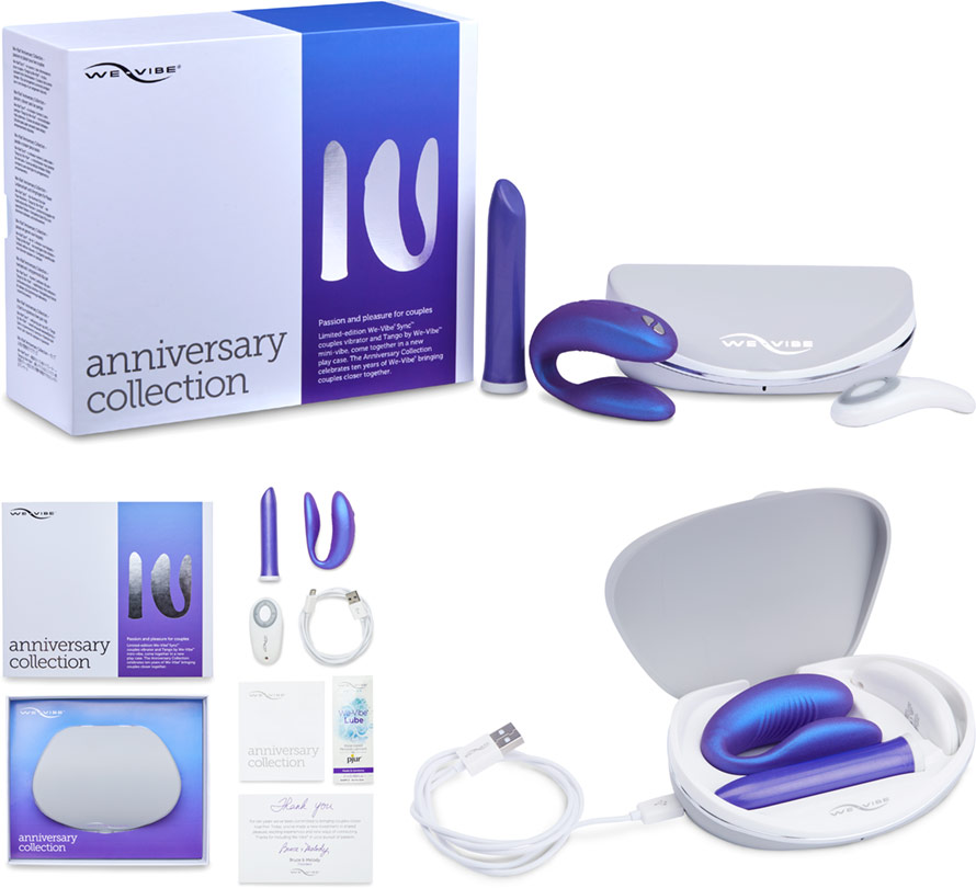 We-Vibe Anniversary Collection (We-Vibe Sync + We-Vibe Tango)