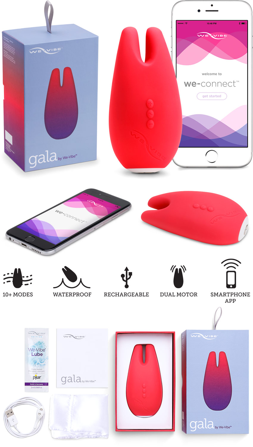 We-Vibe Gala Klitorisvibrator (iOS/Android)