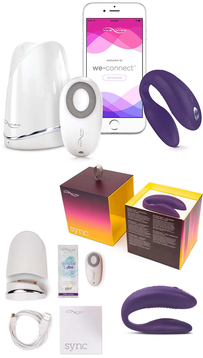 We-Vibe Sync - Vibrator for couples - Purple