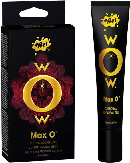 Wet WOW Max O Klitoris-Stimulationsgel - 15 ml