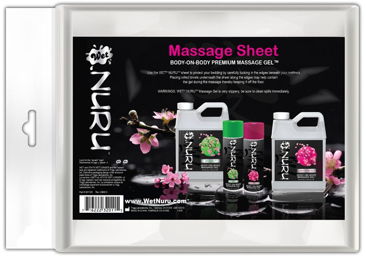 Wet NURU Body-on-Body Massage Sheet