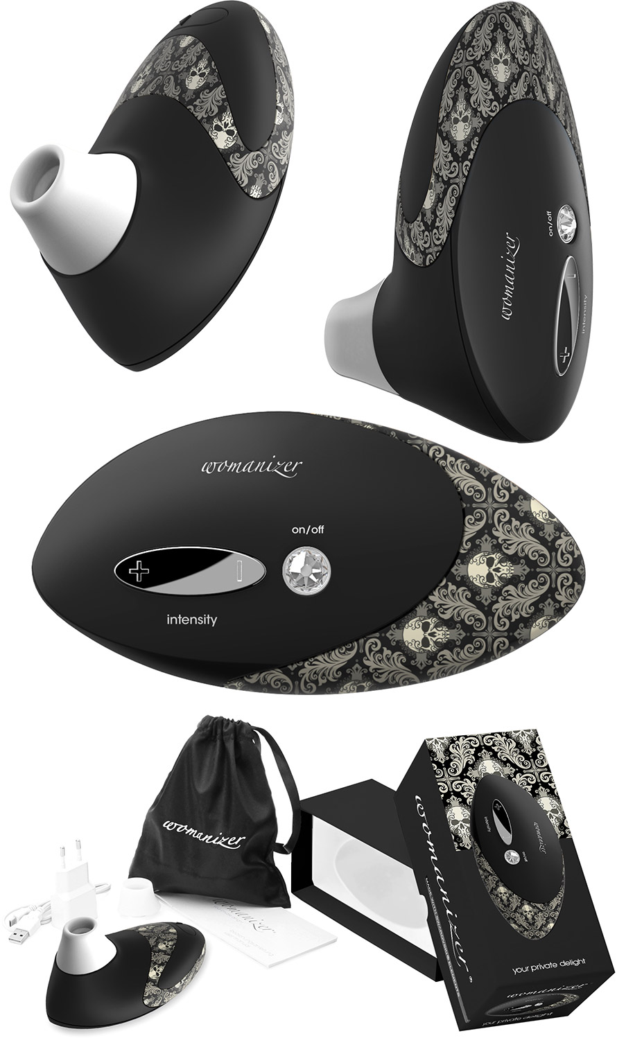 Womanizer Pro W500 Klitoris Stimulator - Tattoo