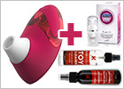Womanizer Pro W500 Clitoral Stimulator - Red (Special offer)