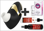 Womanizer Pro W500 Klitoris Stimulator - Gold-Sonderausgabe