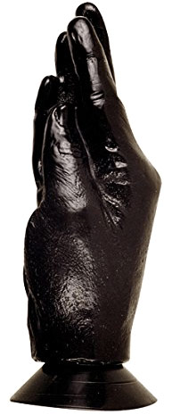 X-MAN All Black No 13 Hand with suction cup dildo - 17 cm