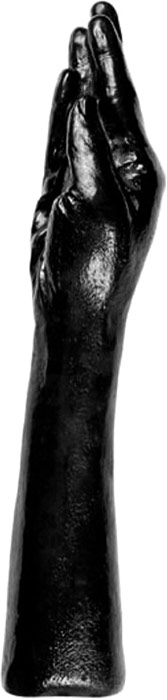 Dildo X-MAN All Black No 21 Avant-bras avec main - 38 cm