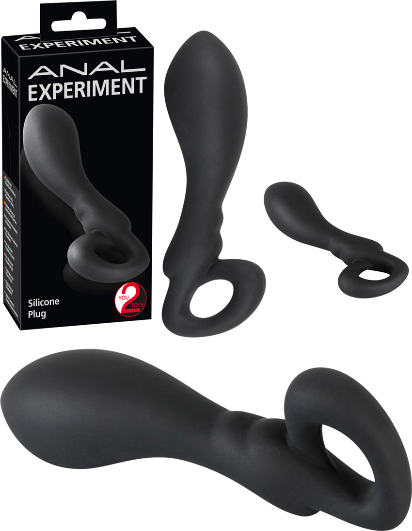 Plug anal en silicone Anal Experiment