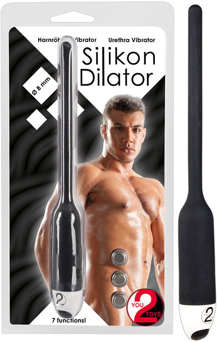 You2Toys silicone urethral dilator - 8 mm