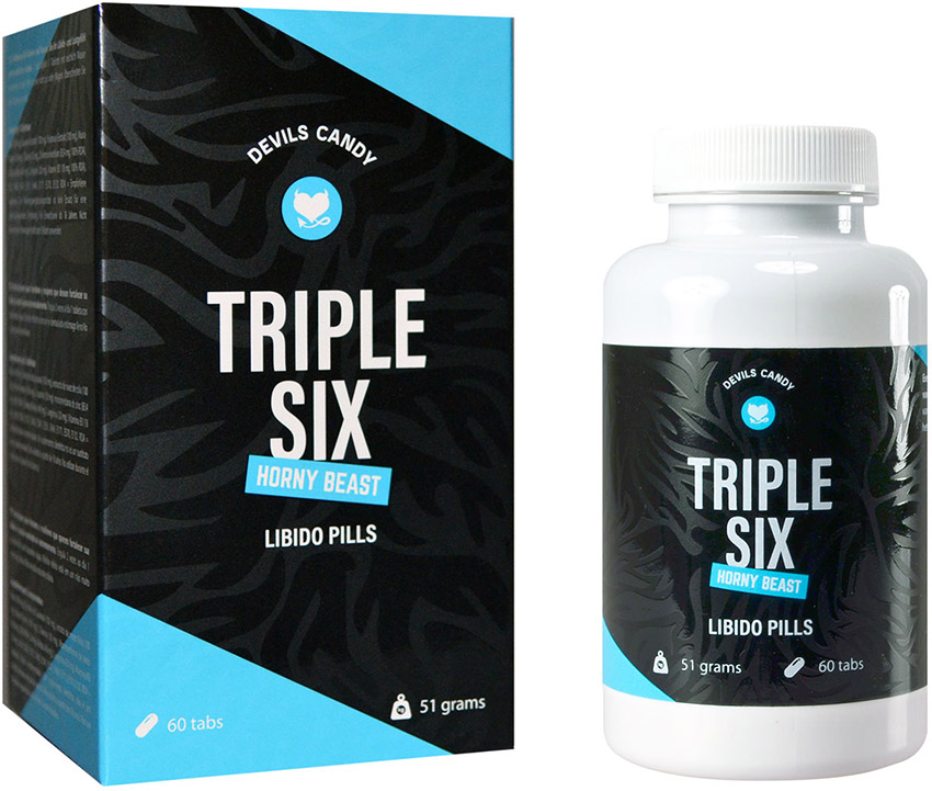 Devils Candy Triple Six pills to boost the libido