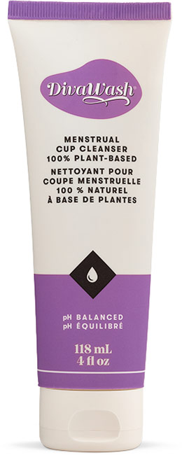 DivaWash - Cleanser for face, body & DivaCup - 118 ml
