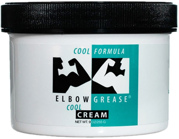 Elbow Grease Cool Lubricating Cream - 255 g (oil based)