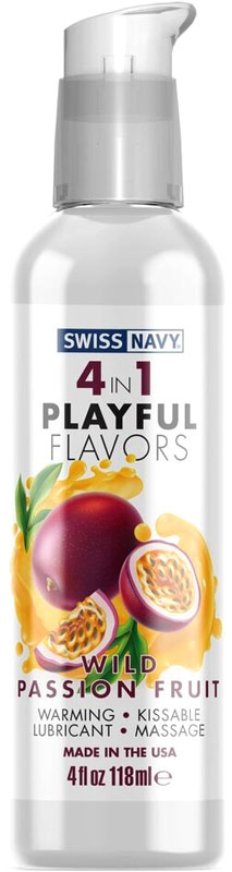 Swiss Navy lubricant - Passion Fruit - 118 ml (water based)